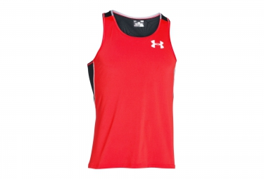 UNDER ARMOUR COOLSWITCH RUN Tank Top Red Black