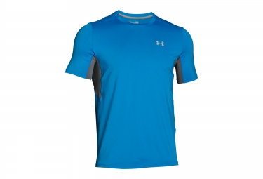 UNDER ARMOUR COOLSWITCH RUN Short Sleeves Jersey Blue