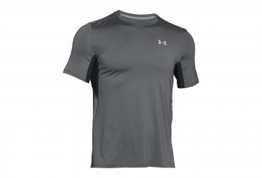 UNDER ARMOUR COOLSWITCH RUN Short Sleeves Jersey Grey