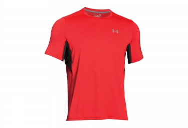 UNDER ARMOUR COOLSWITCH RUN Short Sleeves Jersey Red