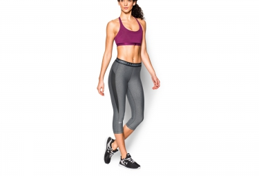 UNDER ARMOUR 3/4 Tight HEATGEAR COOLSWITCH Grey Women