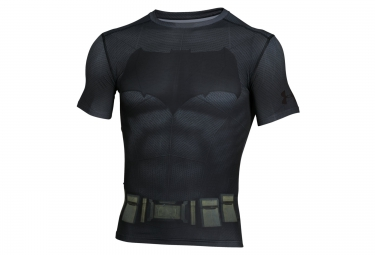 UNDER ARMOUR Compression Short Sleeves Jersey BATMAN Black
