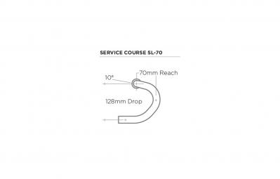 ZIPP Cintre Route Service CourseSL-70Aluminium