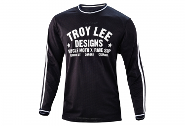 TROY LEE DESIGNS 2016 Maillot Manches Longues SUPER RETRO Noir