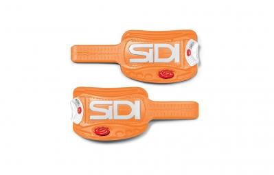 Paire de Languette SOFT Instep 3 Orange/Blanc