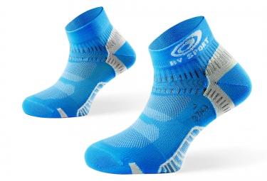 BV SPORT Pack BOOSTER ELITE + Socquettes Pointure 40-45 Bleu Ciel