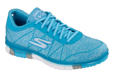 SKECHERS Running Shoes GO FLEX Blue Women