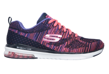 SKECHERS Running Shoes SKECH-AIR INFINITY-WLIDCARD Pink Purple Women