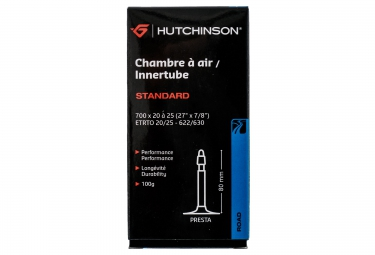 HUTCHINSON Chambre à Air STANDARD700 x 20 à 25mm Presta80mm