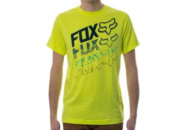 FOX T-Shirt Enfant HUNGER Jaune Fluo