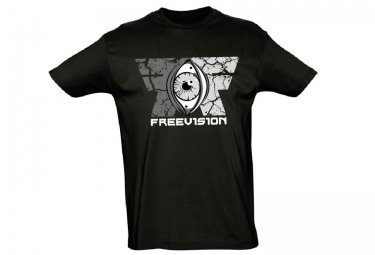 FREEVISION T-Shirt ORIGINAL Noir Blanc