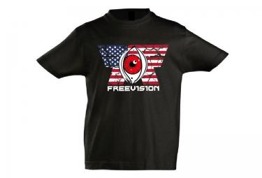 FREEVISION T-Shirt Enfant AMERICAN IDOL Noir