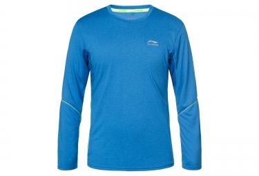 T-Shirt Manches Longues LI-NING Bleu