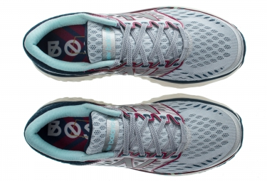 NEW BALANCE M 1080 Marathon de Boston Blanc Gris Rouge