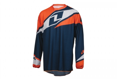 ONE INDUSTRIES Maillot Manches Longues ATOM Bleu Orange
