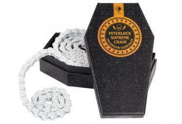 SHADOW Chaine demi maillon 1/8 INTERLOCK SUPREME Blanc