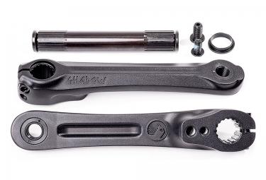 SHADOW Pédalier NOCTIS, 175mm, Noir