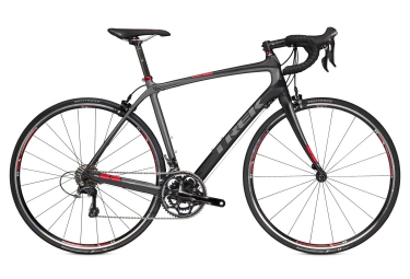 Bici da Strada Completa TREK 2016 DOMANE 4.5 Shimano Ultegra Compact Nera Rosso
