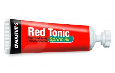 OVERSTIMS Gel Energetique RED TONIC SPRINT AIR Citron givré