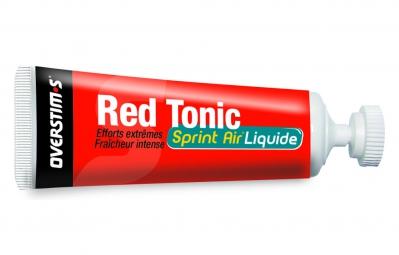 OVERSTIMS Gel Energetique RED TONIC SPRINT AIR LIQUIDE Menthe Eucalyptus