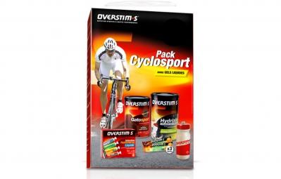 OVERSTIMS Pack CYCLOSPORT + Gourde Overstims