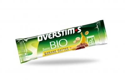 OVERSTIMS Barre Energétique BIO Banane - Dattes