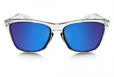 Lunettes Oakley FROGSKINS Translucide Bleu