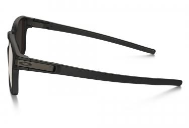OAKLEY Lunettes LATCH SQ Matte Black / Warm Grey Réf OO9353-01