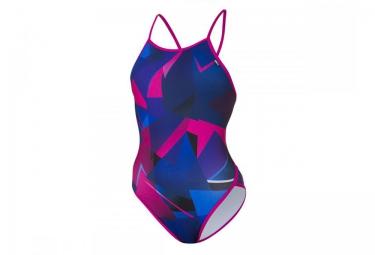 Z3R0D Maillot de Bain 1 Pièce GRAPHIC Bleu Violet Femme