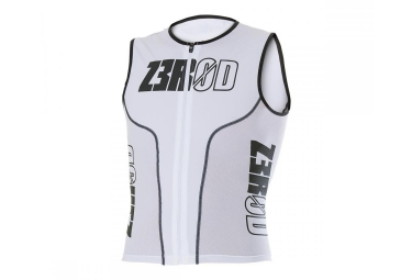 Z3ROD Haut pour Triathlon iSINGLET IRON White