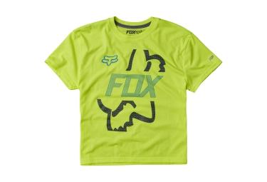 FOX T-Shirt Enfant FLIP SHOT Jaune Fluo
