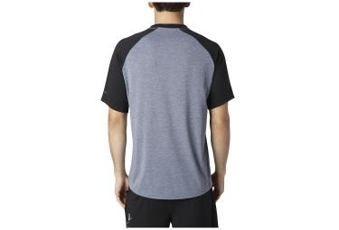 FOX T-Shirt WARMUP Gris Noir