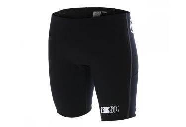 Z3R0D Short pour Triathlon iSHORT IRON Noir