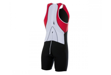 Z3R0D Combinaison pour Triathlon uSUIT UNIVERSAL Noir Rouge Blanc