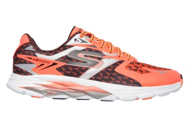 SKECHERS Running Shoes GO RUN Ride 5 Orange White