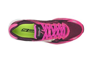 SKECHERS 2016 Paire de Chaussures GO RUN 4 Rose Femme