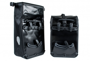 ORTLIEB Paire de Sacoches Porte-Bagage Avant FRONT-ROLLER CLASSIC Noir