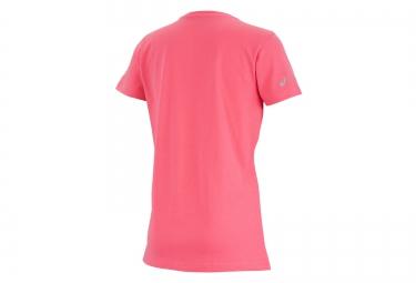 ASICS T-Shirt Schneider Marathon de Paris Rose Femme