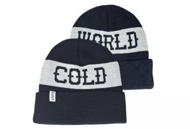 CULT Bonnet COLD WORLD Noir Blanc