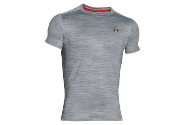 UNDER ARMOUR Short Sleeves Jersey COOLSWITCH RUN ROAD TO RIO Grey Red