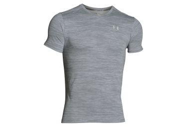 UNDER ARMOUR Short Sleeves Jersey STREAKER RUN Grey