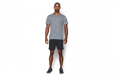UNDER ARMOUR Maillot Manches Courtes STREAKER RUN Gris