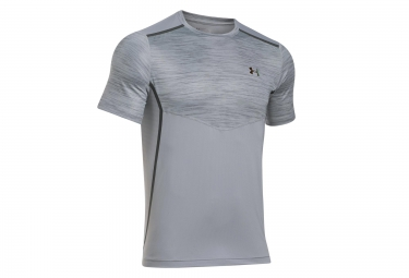 UNDER ARMOUR Short Sleeves Jersey COOLSWITCH ROAD TO RIO Grey Black