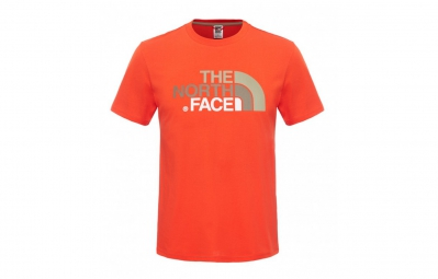 THE NORTH FACE T-Shirt EASY Orange Homme