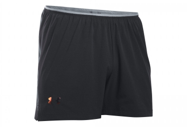 UNDER ARMOUR Shorts RUN ROAD TO RIO Black