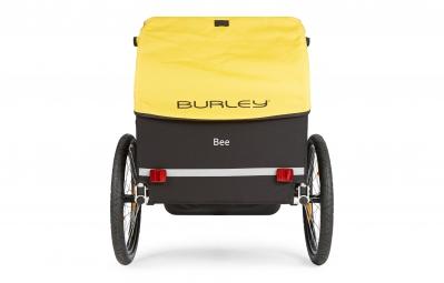 BURLEY Remorque enfant BEE 2 places Jaune/Noir