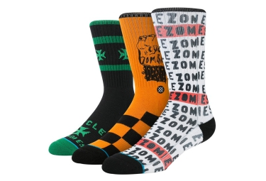 STANCE Pack de 3 chaussettes CYCLE ZOMBIES