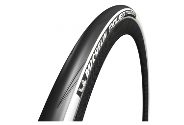 MICHELIN 2016 Pneu POWER ENDURANCE 700 mm Souple Blanc
