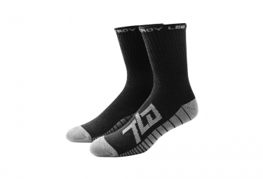 TROY LEE DESIGNS x3 Paires de Chaussettes FACTORY Noir