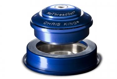 CHRIS KING Jeu de Direction INSET 2 Semi Intégré Conique Bleu